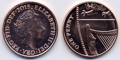 UK Decimal Coins - One Penny
