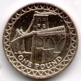 Uk Decimal Coins One Pound