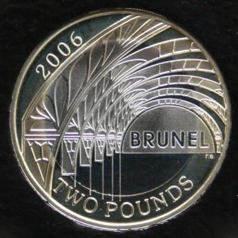 UK Decimal Coins - Two Pounds