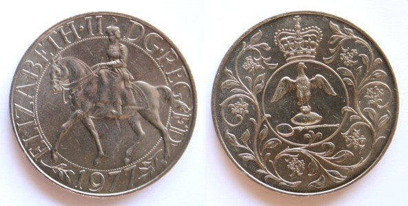 Decimal Coins of the UK - The Decimal Crowns