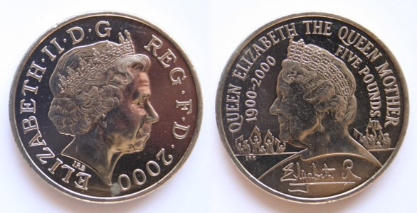 Five Pound Coin Value 1997 Cadillac