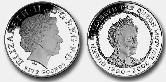Pictures Of Decimal Coins Of The Uk Decimal Five Pounds