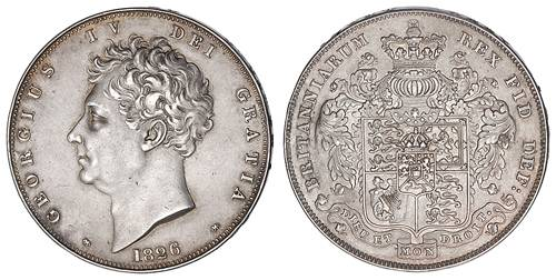 Pictures of Crowns of George IV