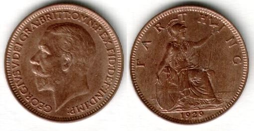 Pictures of Coins of the UK - Farthings