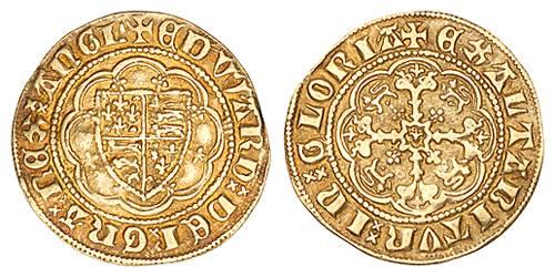 Image result for edward III quarter noble