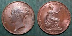 Pictures of Coins of Queen Victoria