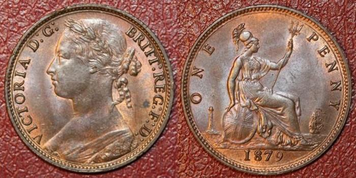 the victorian bronze penny 18601901