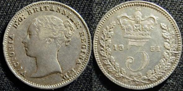 Coins Of The Uk Three Pence