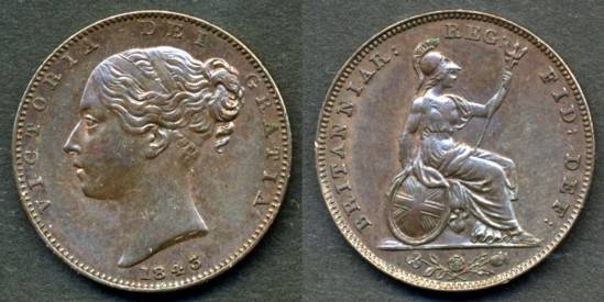 Coins of the UK - Farthings